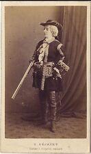 Gentilhomme Photo J. E. Tourtin Paris cdv Vintage albumine ca 1865