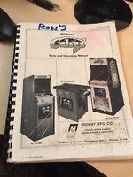Midway - Galaga - Parts and Operating Manual