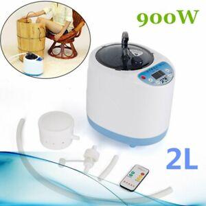 2L Home Sauna Spa Steamer Steam Generator For Portable Sauna Tent Body Therapy