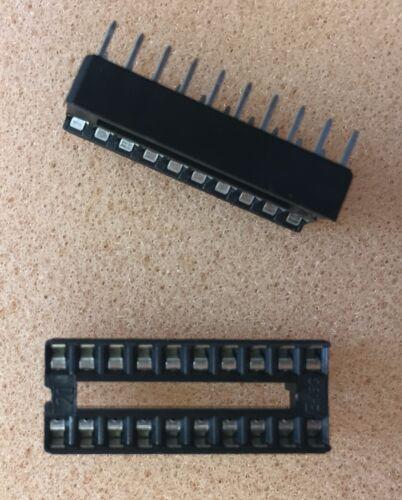 Low Cost  IC Fassung Doppelfeder Sockel  20-polig  DIP14  NEW  #BP 24 pcs