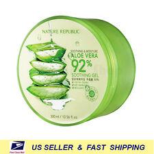 [ NATURE REPUBLIC ] Soothing & Moisture Aloe Vera 92% Gel 300ml ++NEW Fresh++