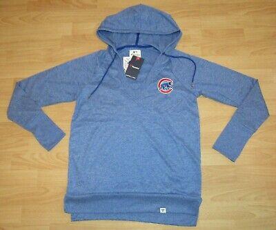 Fanartikel Verantwortlich Fanatics Chicago Cubs Gesticktes Logo V-neck Hoodie Jacke M