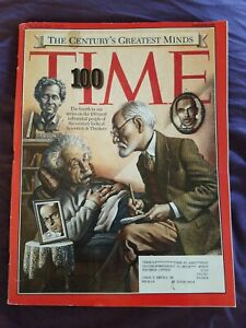 Vintage Time Magazine Past Issue March 29, 1999 Time 100 Special Issue