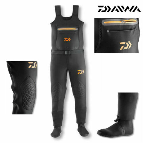 Daiwa D-Vec Super Flex Néoprène STOCKING FOOT de CUISSARDES taille au choix watthose