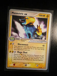 Image Is Loading EX WC 2006 Pokemon MANECTRIC Card DEOXYS