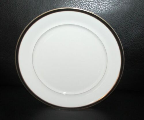 Mikasa Petite Bone Black Tie Salad//Dessert Plate  NEW 4 Available