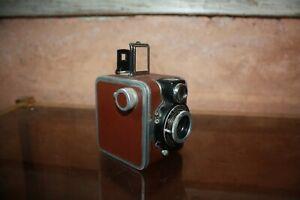Ferrania Rondine appareil photo ancien bon état Linear 7.5