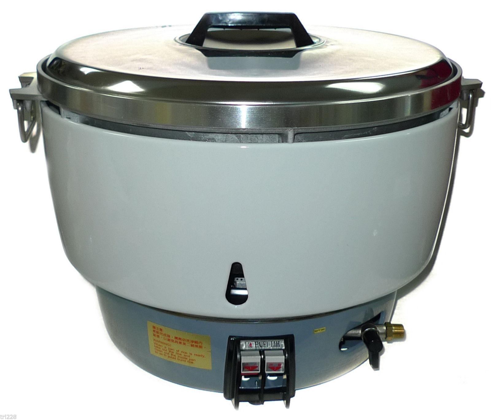 Nouveau Huei gaz naturel riz commercial cuisinière (50 tasses) 100 bols
