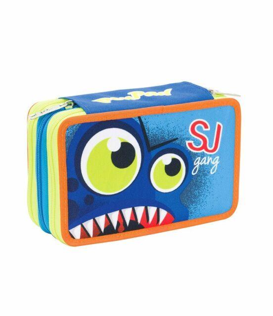 Astuccio triplo 3 zip PenPad Seven SJ Face Boy - Nuova collezione scuola 2019/20