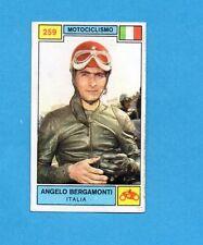 CAMPIONI SPORT 1969-70-PANINI-Figurina n.259- BERGAMONTI-ITALIA-MOTOCICLISMO-Rec