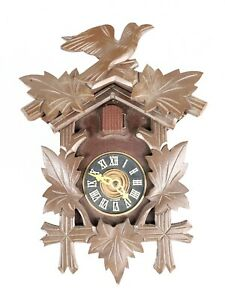 Cuckoo Clock Hagos KG German Vintage made in germany For parts AS IS