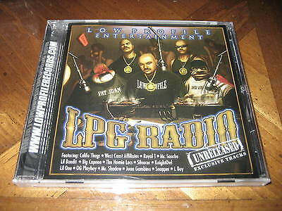 LPG Radio: Unreleased Exclusive Tracks by Various Artists (CD, Nov-2009,  EMI Latin/LPG Music Group)