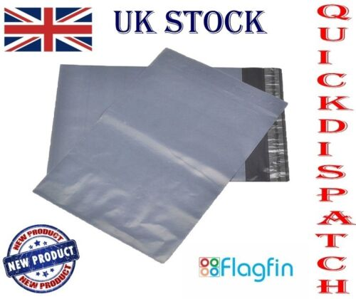 "50pcs 6/""x 9/"" GRAY MAILING BAGS POSTAL BAGS STRONG WATERPROOF PEEL AND SEEL"