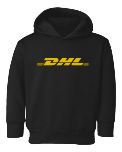 Courier Company DHL Postal Service Kids Toddler Hooded Sweatshirt