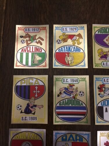 Panini calciatori 1982//83 scudetto nuovo bustina Lazio Ascoli Italia Coppa ecc..