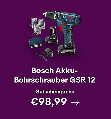 Bosch Akku-Bohrschrauber GSR 12