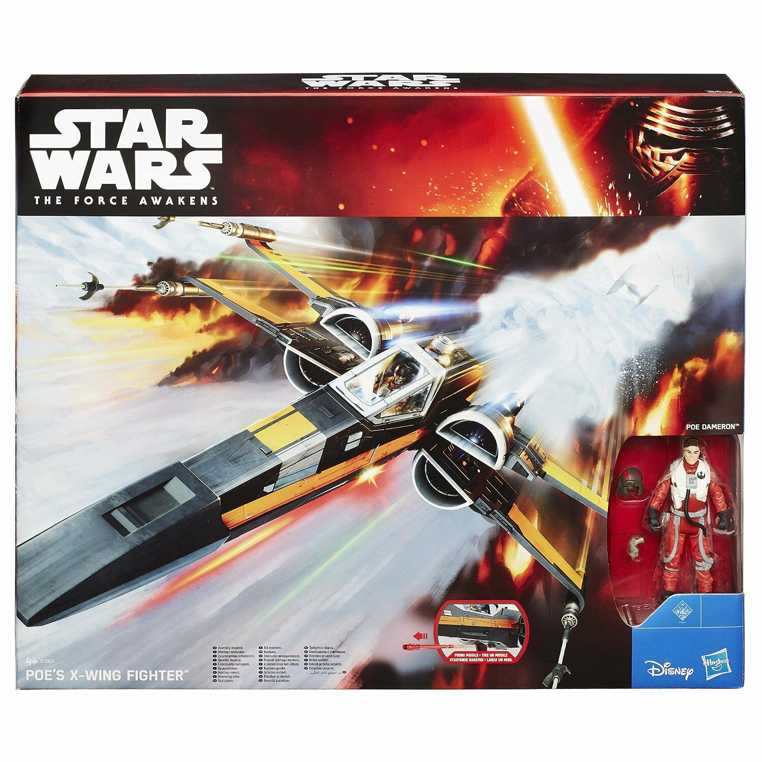 Star wars  the force éveille PoE's x-wing fighter  grosses soldes