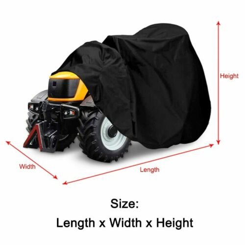 Waterproof Riding Lawn Mower Tractor Storage Cover Outdoor UV Protection