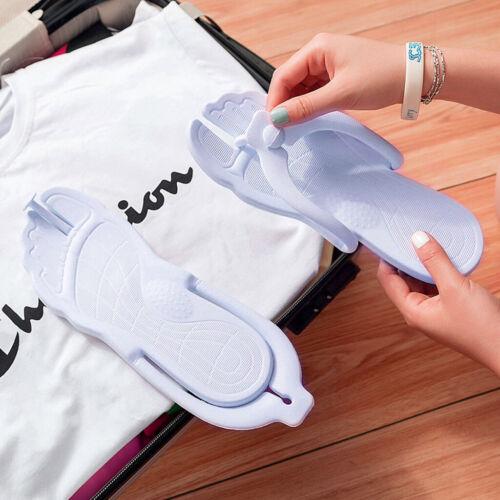 Foldable Flip Flops Sandals Travel Beach Slippers Anti-Slip Soft Sandals