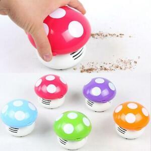 Cute-Ritzy-Mini-Mushroom-Corner-Desk-Table-Dust-Vacuum-Cleaner-Sweeper