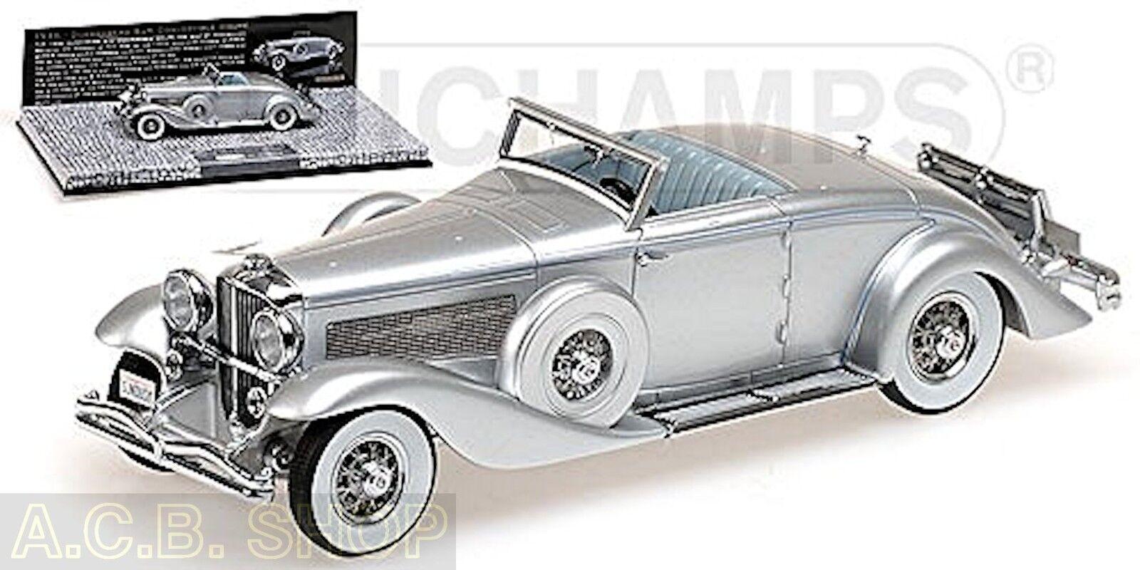 Duesenberg Sjn Congreenible Coupé 1936 1 43 Minichamps First Class Colección