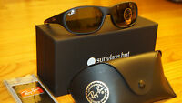 Authentic Ray Ban Rayban Daddy-o Black/green Rb2016 W2578