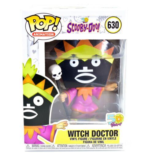 Funko Pop Animation Scooby-Doo Witch Doctor 50 Years Vinyl Figure #630