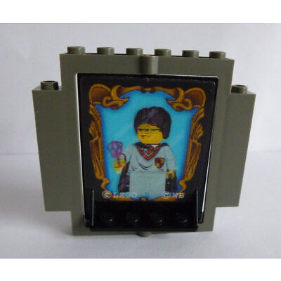 1 x LEGO® 30102/30101 Sonderstein 2 teilig °Geheime Tür Harry Potter° gebraucht!