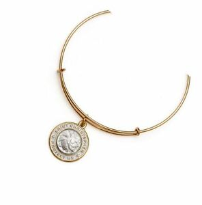 Image Is Loading Alex Amp Ani Sterling Silver 14kt Gold Saint