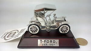 MODELLINI-AUTO-COLLEZIONE-EPOCA-ANTICHE-CARS-COLLECTION-MODEL-FORD-T-MOTORS