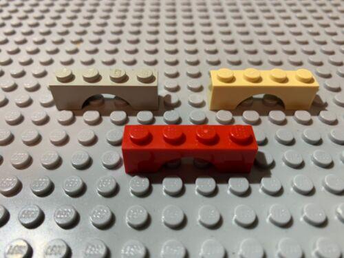 Brick Arch 1x4 Choose Color LEGO Parts 3659 2pcs