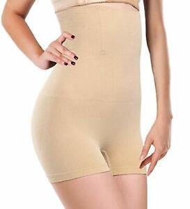 Ladies HIGH WAIST Body Shaper Slimming Tummy Control Shapewear Pants UK 14-16