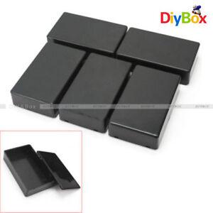 5-PCS-Plastic-Electronic-Project-Box-Enclosure-Instrument-Case-100x60x25mm