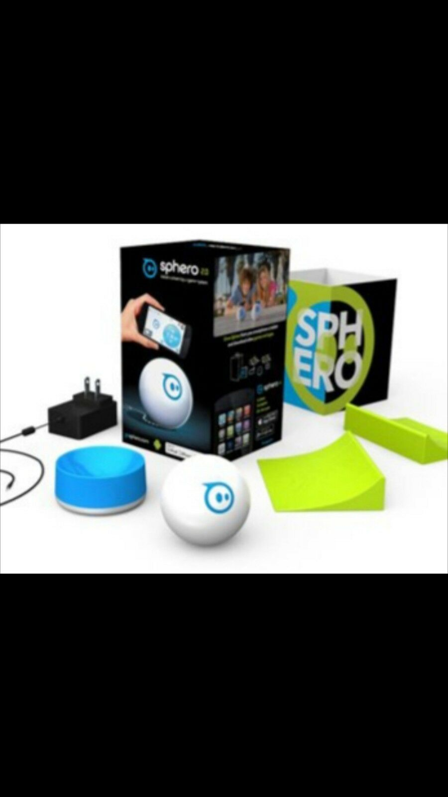 Sphero 2.0 App Controlled Robotic Ball w  Accessories