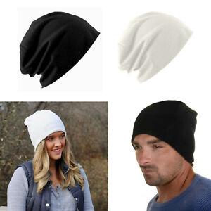 Jersey Slouchy Beanie Skullcap Unisex Men Women Beanie Hat Cap Lightweight NEW