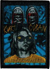 29018 Kurt Cobain Nirvana Grunge Converse Shoes KC WA Embroidered Iron On Patch