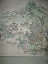 alte Seidenmalerei Seidenbild China