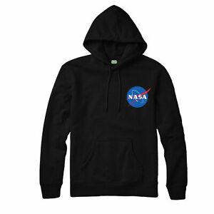 NASA-Hoodie-Astronaut-Space-Earth-Apollo-Geek-Nerd-Star-Science-Adult-Kids-Top