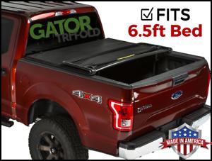 Gator Etx Tri Fold Fits 2015 2019 Ford F150 6 5 Ft Tonneau Bed