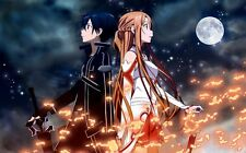 Sword Art Online Animation Art Print poster (21x13inch) Decor 24