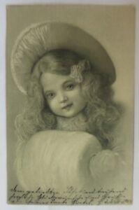 Children-Fashion-Hatmode-Muff-Child-Portrait-1904-Sig-H-R-68685