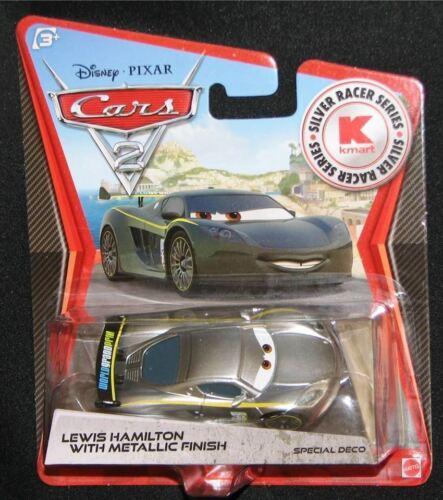 Mattel Disney Pixar KMART CARS 2 LEWIS HAMILTON Metallic Finish