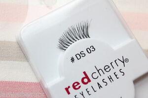 Red-Cherry-DS3-Akzent-Wimpern-halbe-falsche-Echthaarwimpern-strip-lash-DS-03