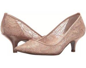 81e5094d746 Adrianna Papell Women s Lois-lc Dress Pump Blush Lace 8.5 B(M) US ...