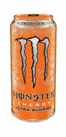 Monster Energy Ultra Sunrise 16 Ounce (pack Of 24) Free Shipping