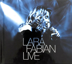 Lara-Fabian-2xCD-Lara-Fabian-Live-Digibook-France-VG-VG