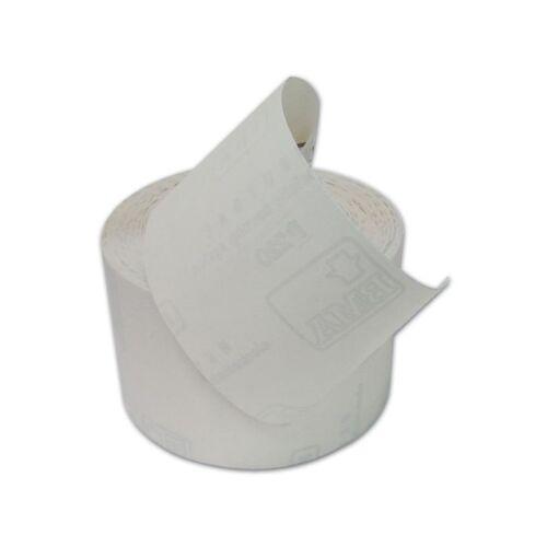 Fna Carta Vetrara Abrasiva al Corindone Bianco ACN Grana 220 H120 mm 100 mt