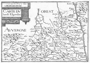 Antique-map-Carte-du-hault-Languedoc
