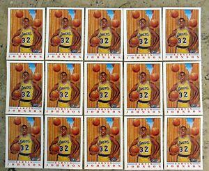 1991-Fleer-Pro-Visions-6-Earvin-Magic-Johnson-Lakers-HOF-15ct-Card-Lot