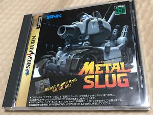 Metal-Slug-Sega-Saturn-SS-From-Japan-Used-F-S
